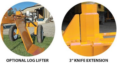Renewable Energies Llc Wood Splitters Stryker Log